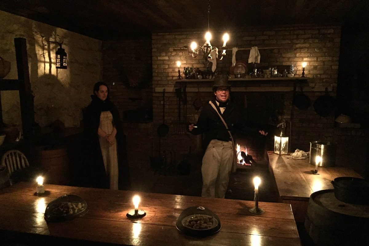 Old Fort Erie is celebrating All Hallows' Eve with tours by lantern shine.