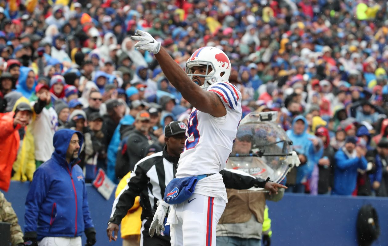 Bills wide receiver Andre Holmes stepped up and made some big plays in Sunday's game against the Oakland Raiders.  (James P. McCoy/News file photo)