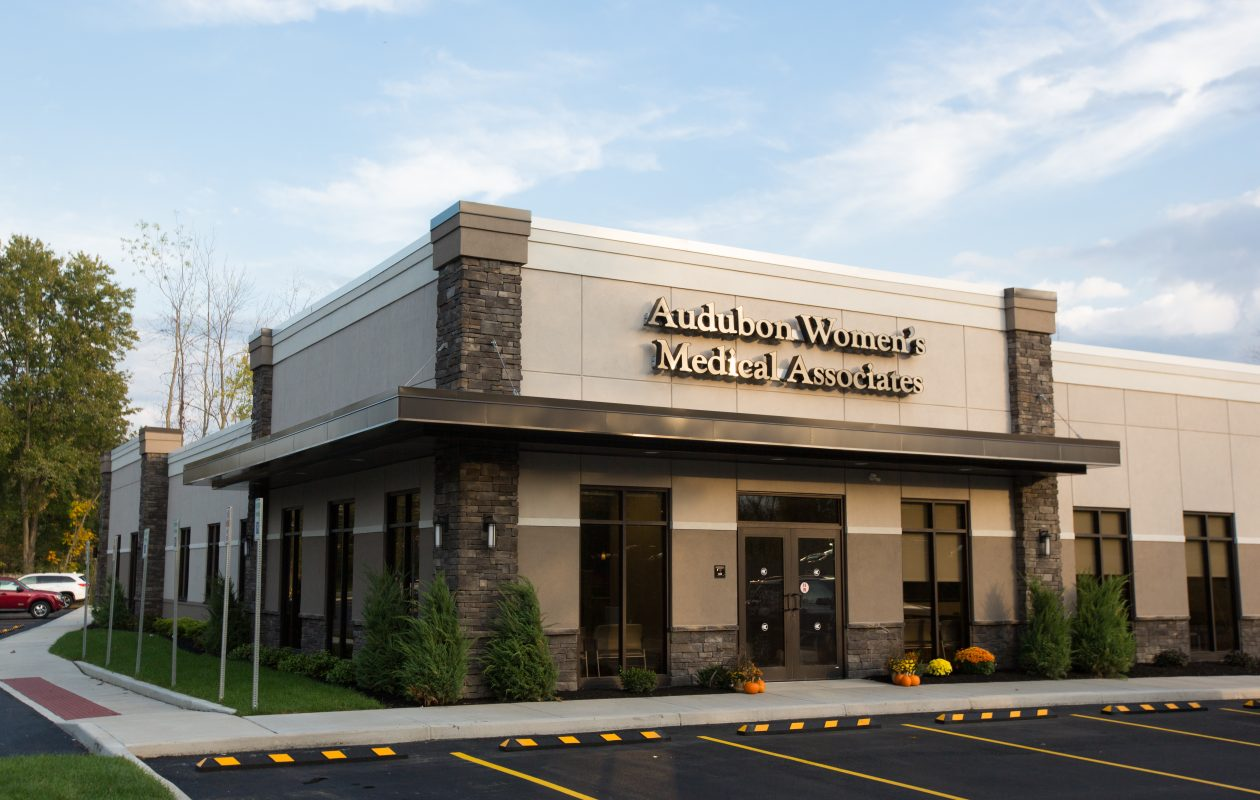 A view of the new Audubon Women's Medical Associates offices, in this photo provided by the practice. (Courtesy of Allison Raffaele)