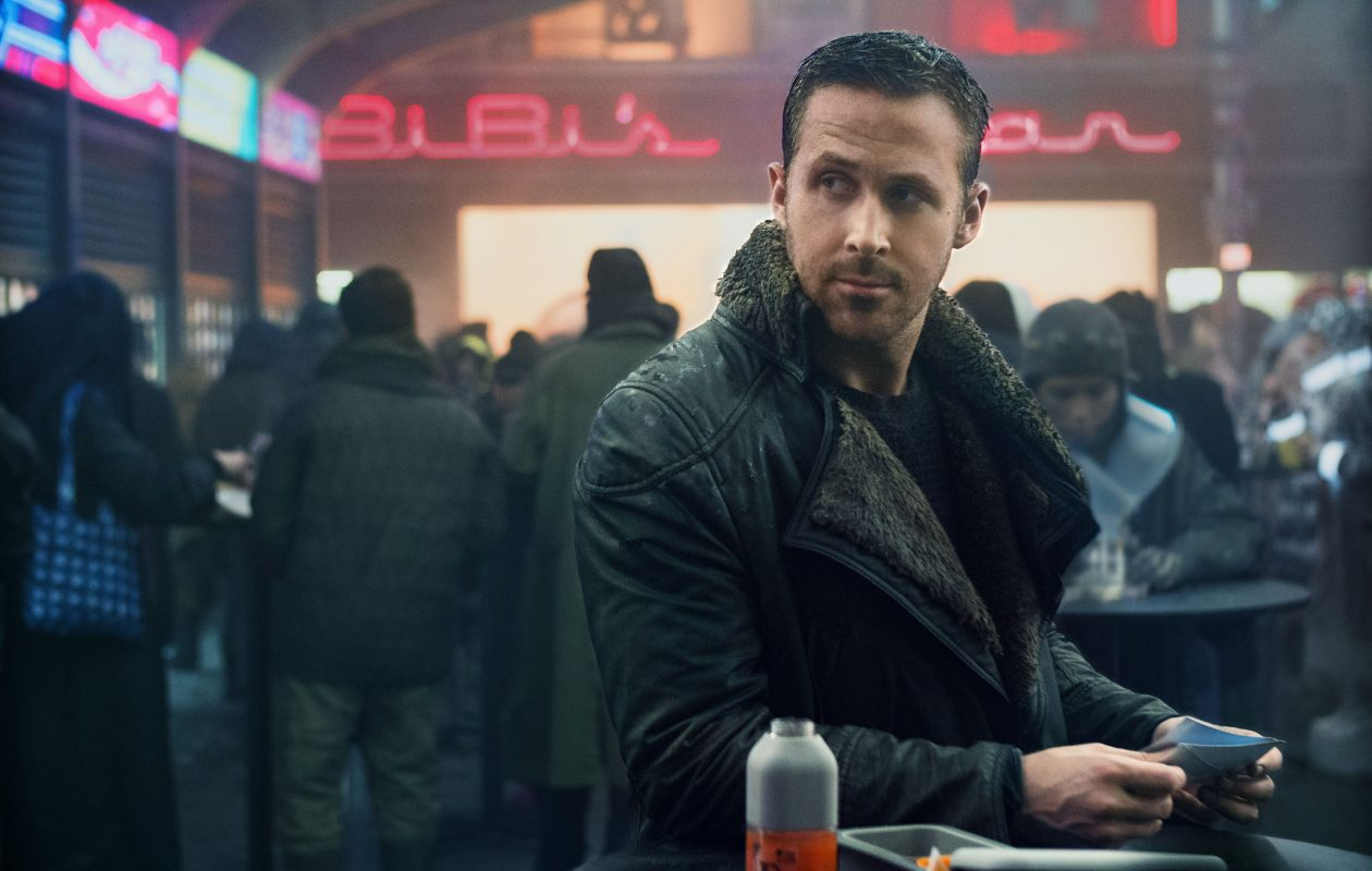 RYAN GOSLING as K in Alcon Entertainment's action thriller 'BLADE RUNNER 2049,' a Warner Bros. Pictures and Sony Pictures Entertainment release,