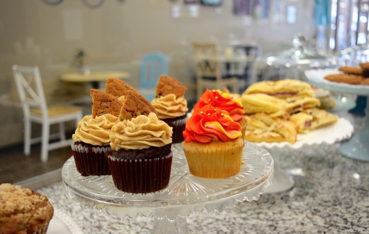 Sweet Pea Bakery in Hamburg is known for its gluten free and vegan baked goods that taste like the real deal. (Photo courtesy Sweet Pea Bakery.)