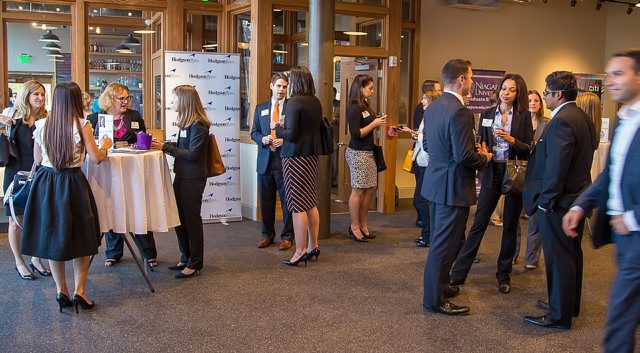 The Buffalo Niagara Partnership will use the results from a recent survey of young professionals to shape its BN360 programming. Here, a BN360 event drew young professionals in 2014. (Don Nieman / Special to the News)