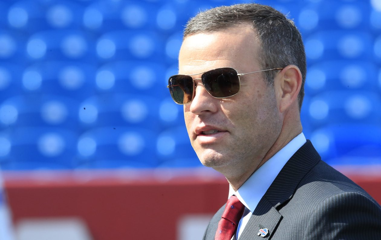 Bills GM Brandon Beane. (Harry Scull Jr./Buffalo News)