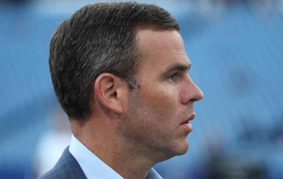 Bills General Manager Brandon Beane has shown he's not afraid to make big trades at the draft. (James P. McCoy/Buffalo News)
