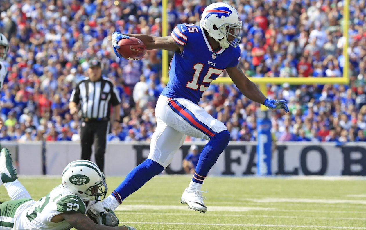 The Bills must find return men to replace Brandon Tate. (Harry Scull Jr./News file photo)