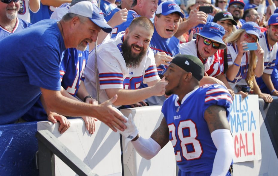 Former Bills cornerback E.J. Gaines is looking to make a big splash with the Browns. (Robert Kirkham/News file photo)