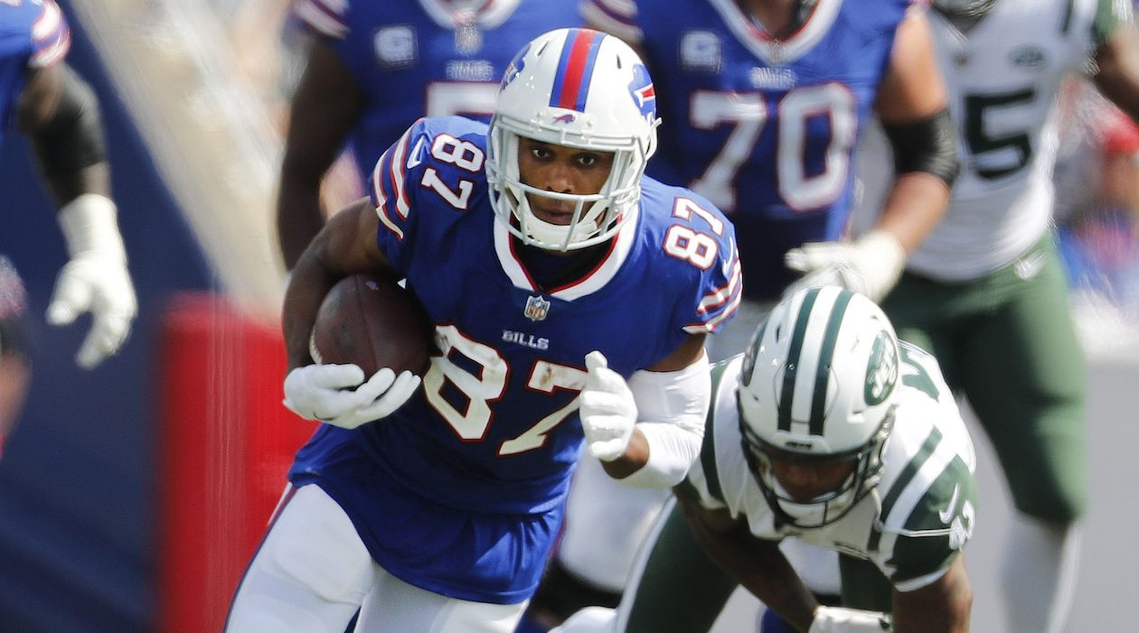 Will free agent Jordan Matthews return for another season with the Bills? (Mark Mulville/News file photo)