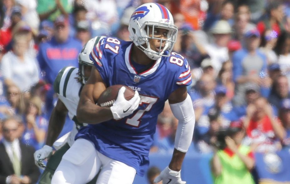 Former Bill Jordan Matthews reminisced about his time in Buffalo. (Robert Kirkham/News file photo)