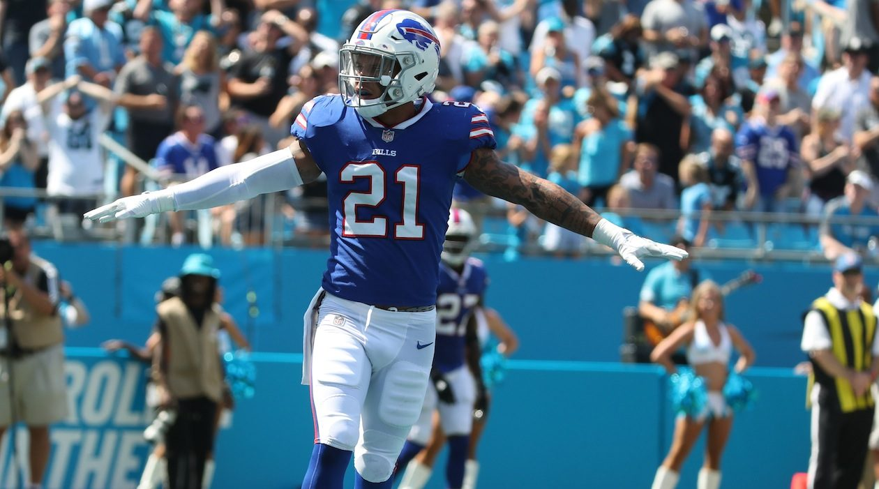 Bills safety Jordan Poyer will try not to be manipulated by Drew Brees. 'You can't go off any pumps or anything,' Poyer said. 'You just have to play a little more disciplined.' (James P. McCoy/Buffalo News)