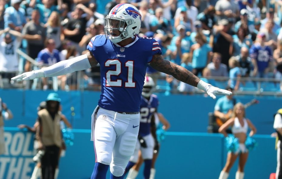 "Bills safety Jordan Poyer will try not to be manipulated by Drew Brees. ""You can't go off any pumps or anything,"" Poyer said. ""You just have to play a little more disciplined."" (James P. McCoy/Buffalo News)"