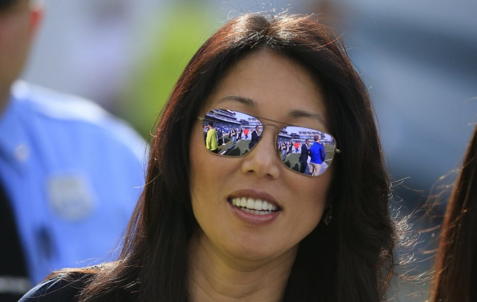 Kim Pegula is the only current female president in the NHL. (Harry Scull Jr./News file photo)
