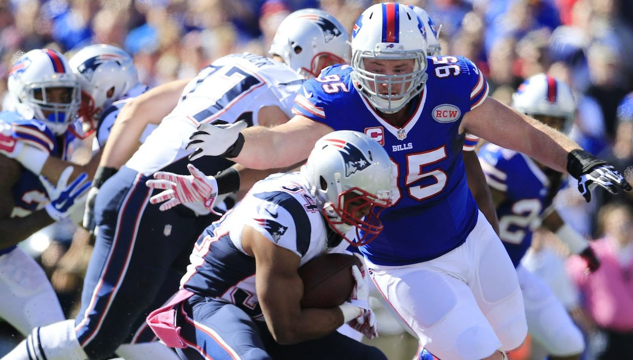 Defensive tackle Kyle Williams (Harry Scull Jr./Buffalo News)