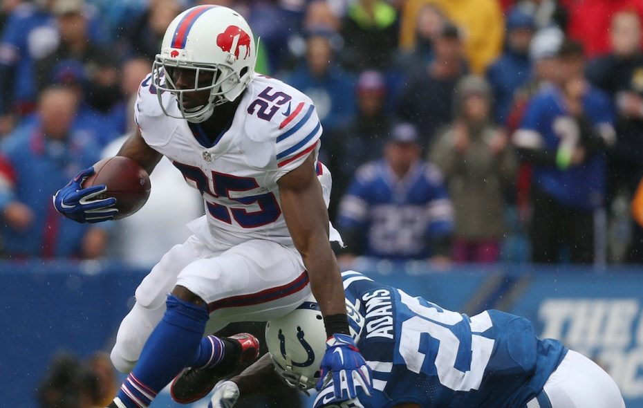 "LeSean McCoy said the Bills' 4-2 start ""feels different"" than last year. (James P. McCoy/Buffalo News)"