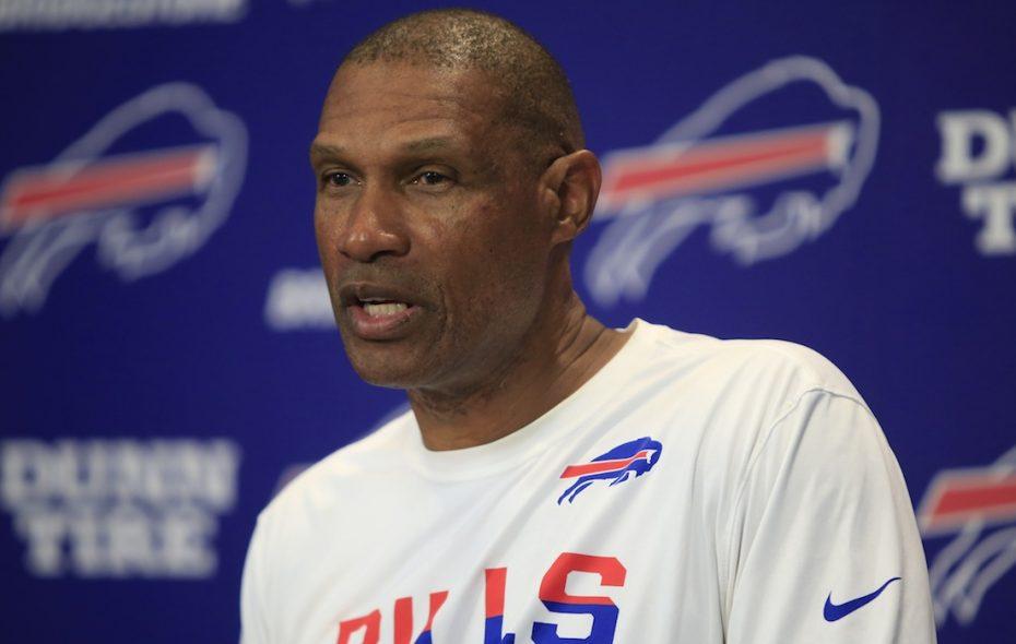 Bills defensive coordinator Leslie Frazier. (Harry Scull Jr./Buffalo News)