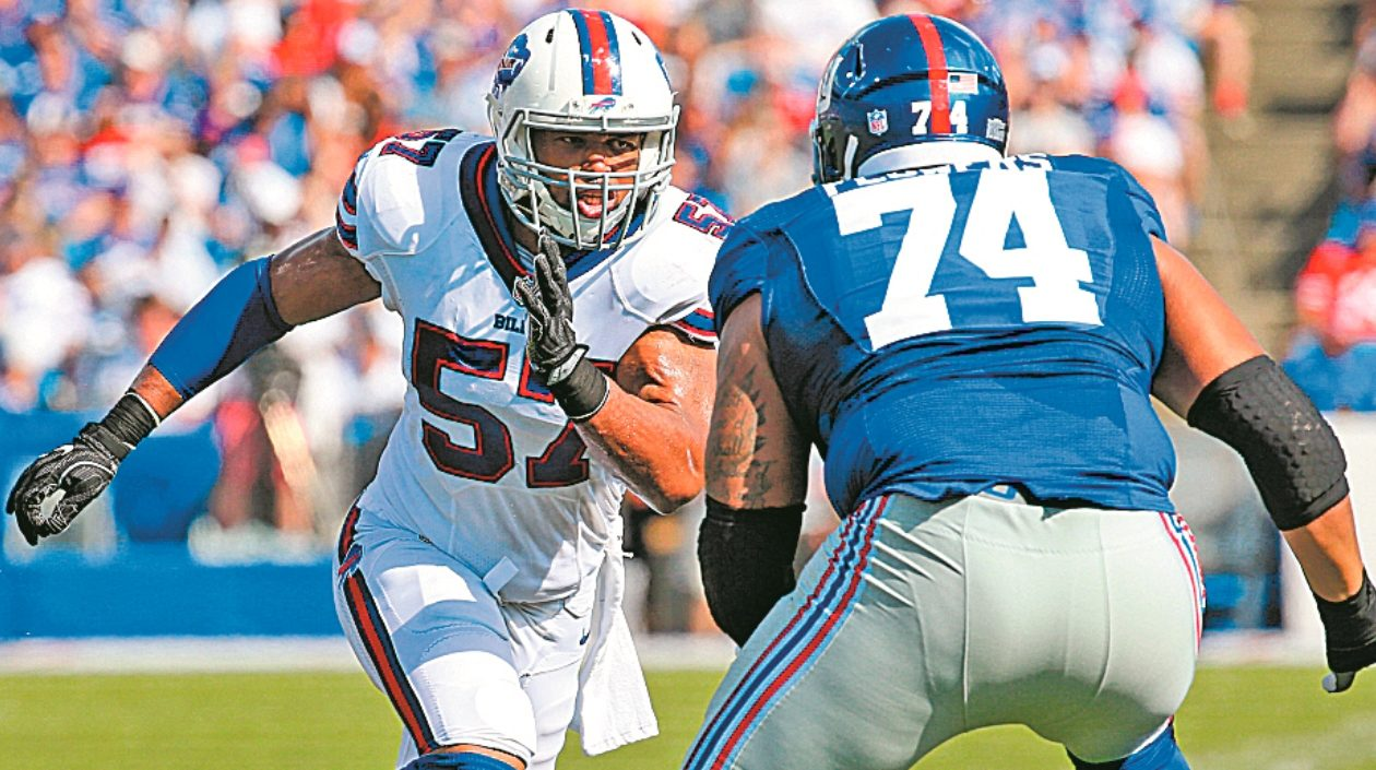 Lorenzo Alexander believes the Bills are more than capable of getting off to a faster start Sunday. (News file photo)