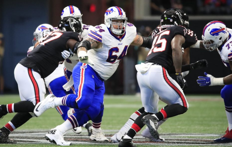 Richie Incognito is officially off the Bills roster. (Harry Scull Jr./Buffalo News)