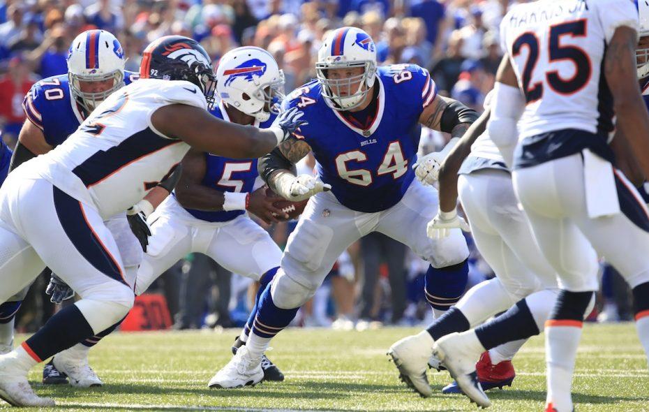 Former Buffalo Bills guard Richie Incognito. (Harry Scull Jr./Buffalo News)