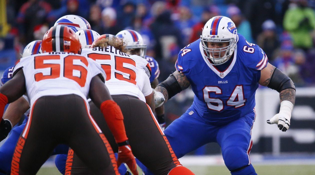 Richie Incognito (Harry Scull Jr./Buffalo News)