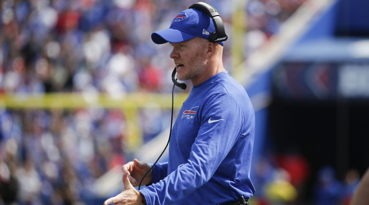 Sean McDermott executed his defensive philosophy in 2018. (Robert Kirkham/News file photo)