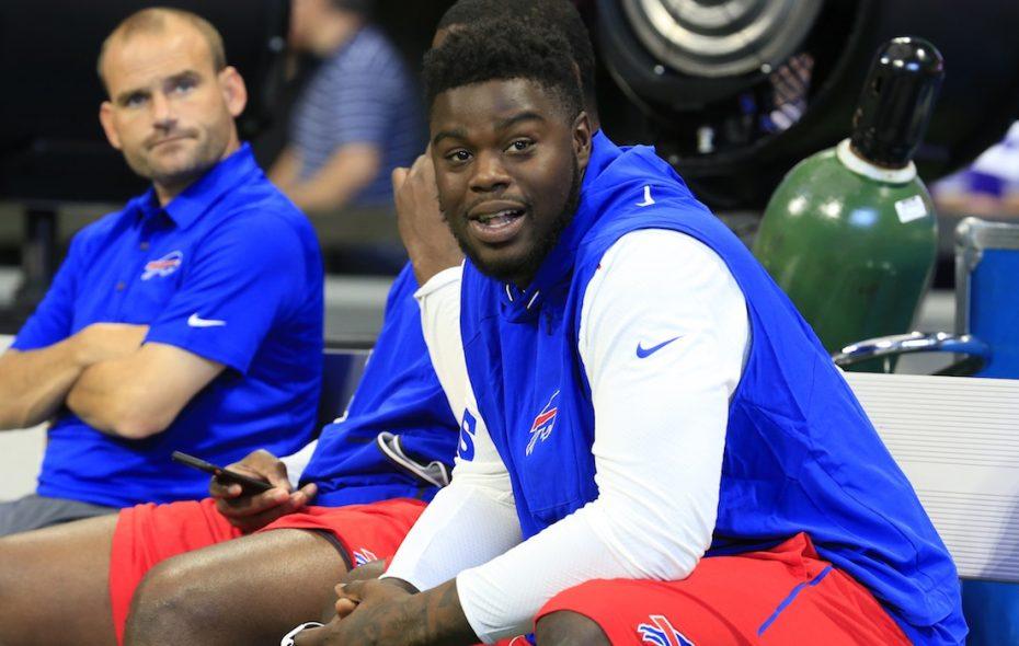 Bills defensive end Shaq Lawson (Harry Scull Jr./Buffalo News file photo)