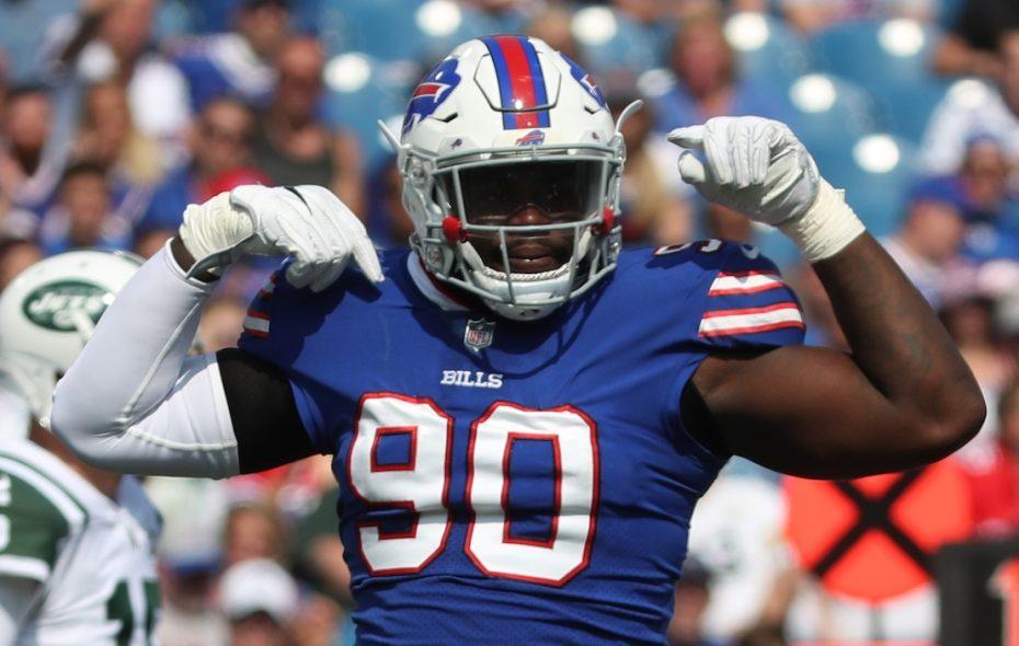 Bills defensive end Shaq Lawson (James P. McCoy/News file photo)