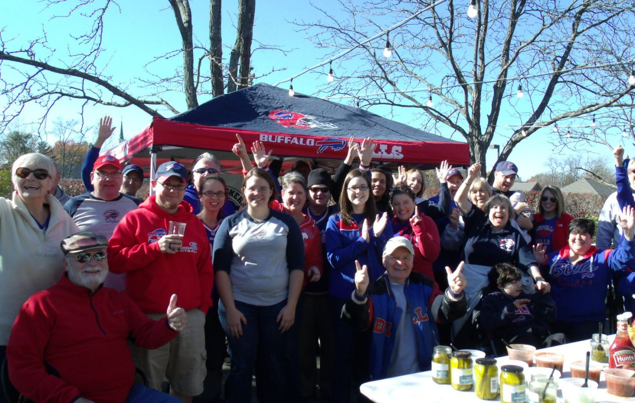 The Bills Backers of N. Kentucky & Cincinnati formed more than 30 years ago. (Courtesy of Michelle Vezina).