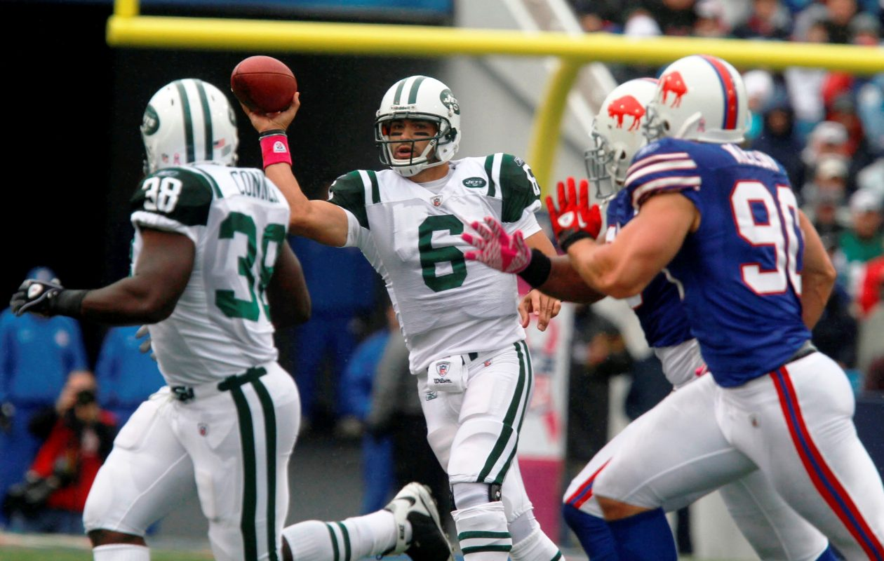 The Bills were manhandled by the Jets, 38-14, on Oct. 3, 2010, in Orchard Park. (John Hickey/Buffalo News file photo)