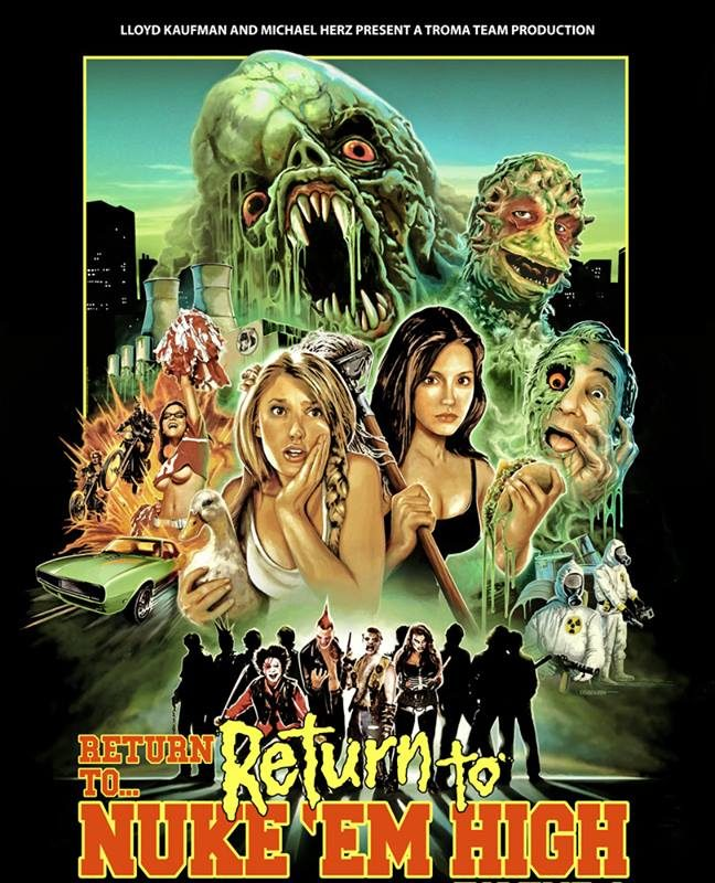 'Return to Nuke 'Em High' will be shown at Buffalo Dreams Fantastic Film Festival.