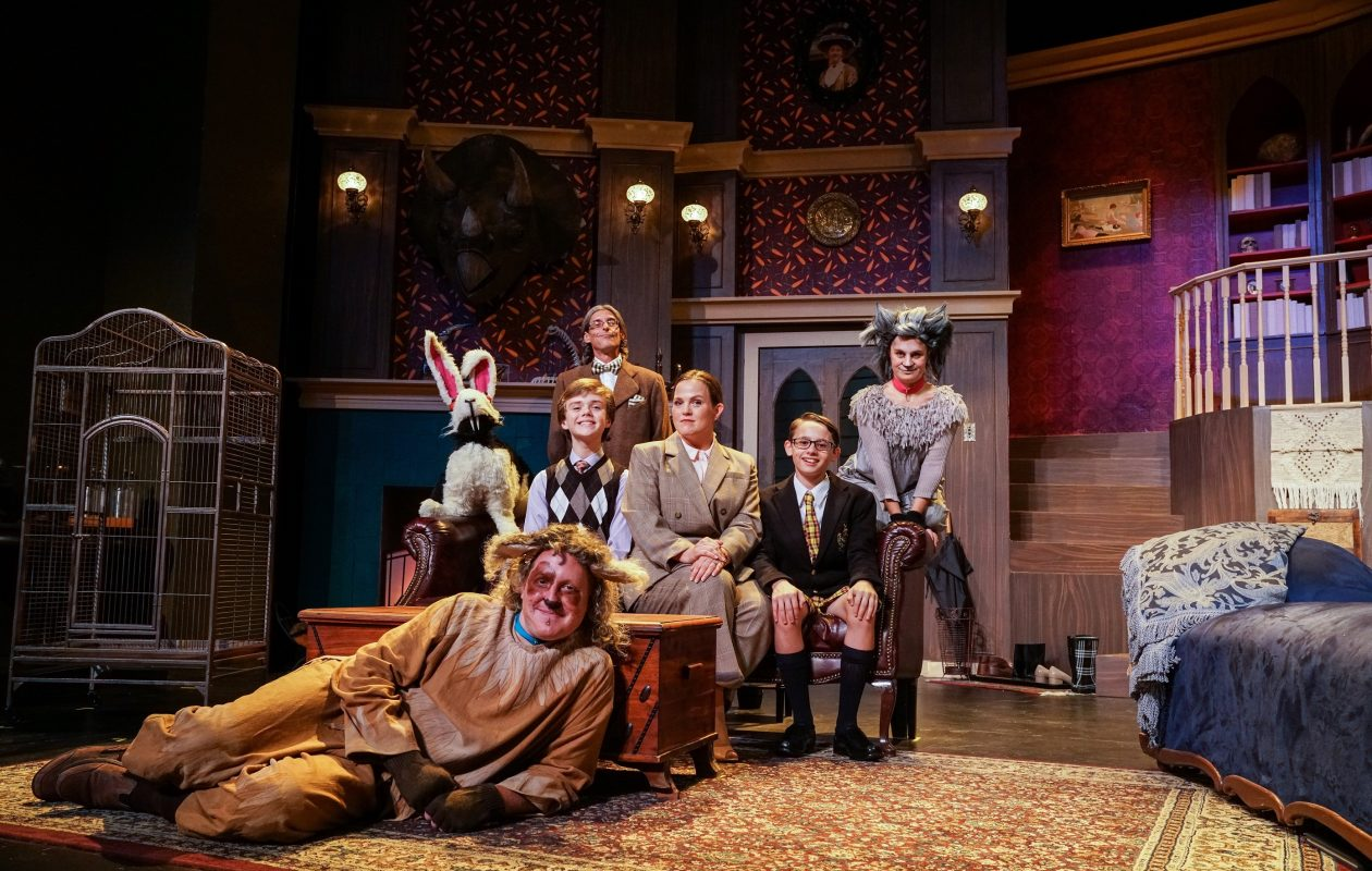 The cast of 'Bunnicula,' now onstage at Theatre of Youth.