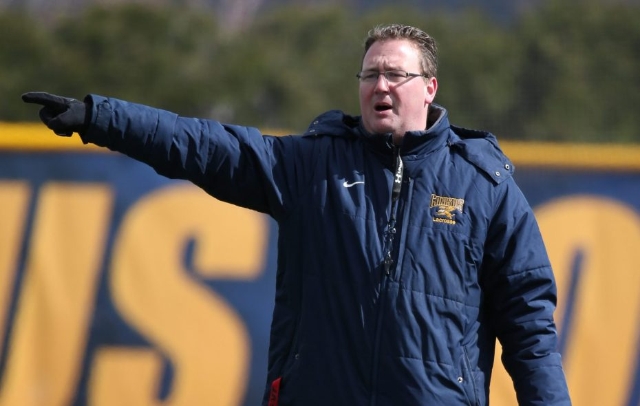Scott Teeter, the 16-year Golden Griffins head coach, is taking over coaching duties for the Boston Storm, a professional women's lacrosse team in the United Women's Lacrosse League.  (James P. McCoy/News file photo)