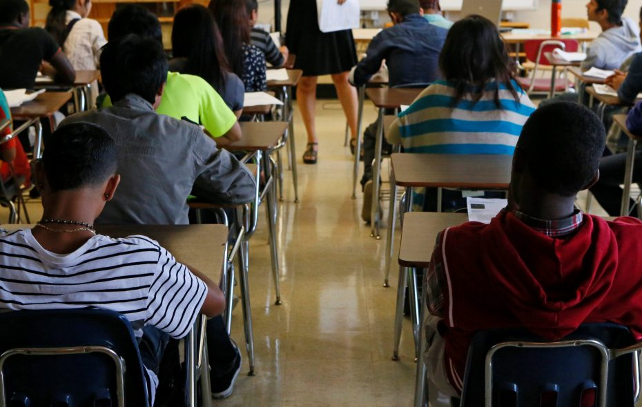 Too many minority students have no minority teachers to serve as role models. (Buffalo News file photo)