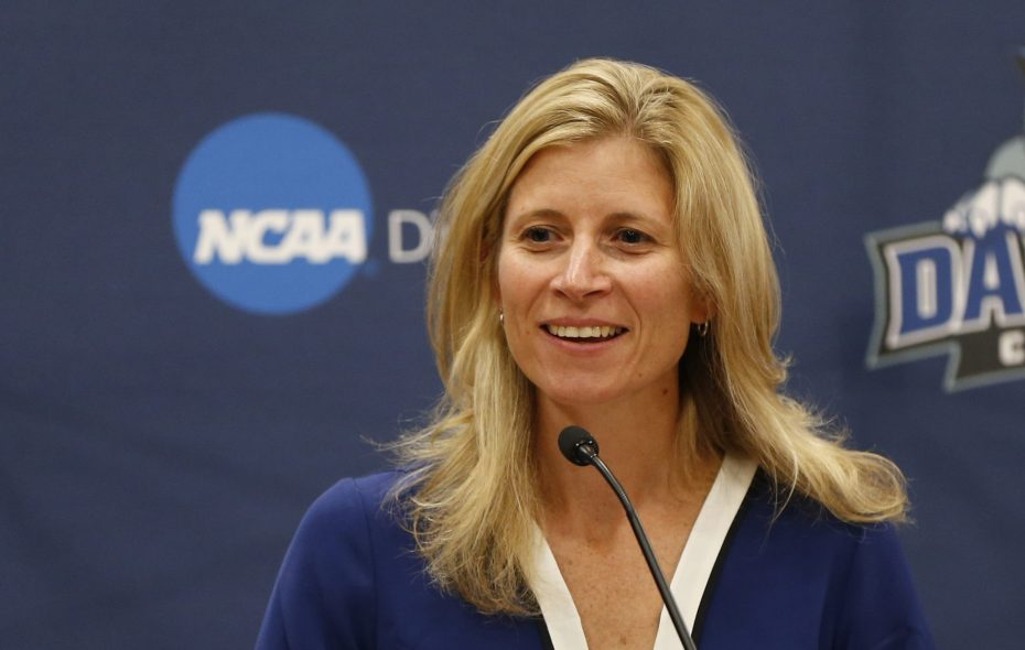 Bridget Niland will be leaving her post as director of athletics at Daemen College in January. (Harry Scull Jr./Buffalo News)