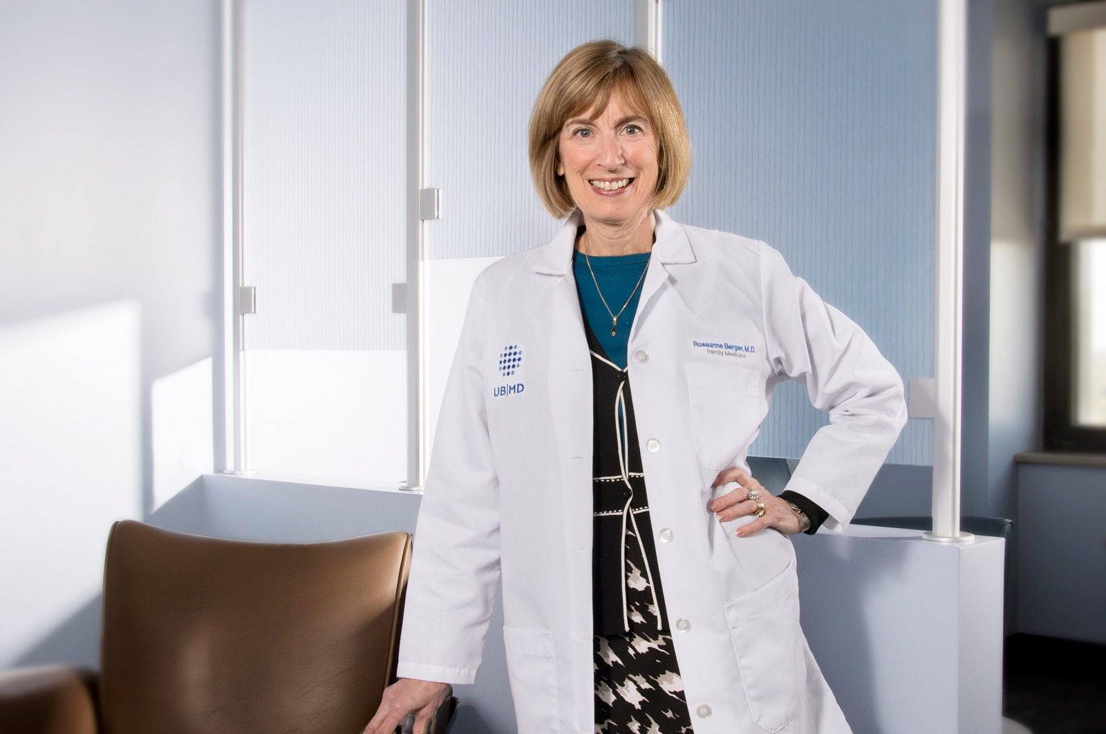 National health leader sees great promise in new UB medical