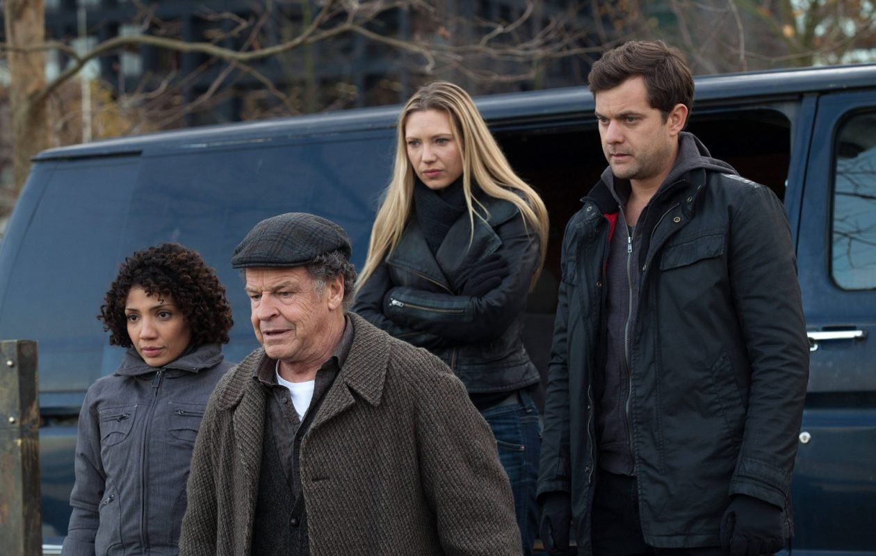 Jasika Nicole, John Noble, Anna Torv and Joshua Jackson in a scene from the two-hour series finale of 'Fringe.' (Fox, Liane Hentscher)