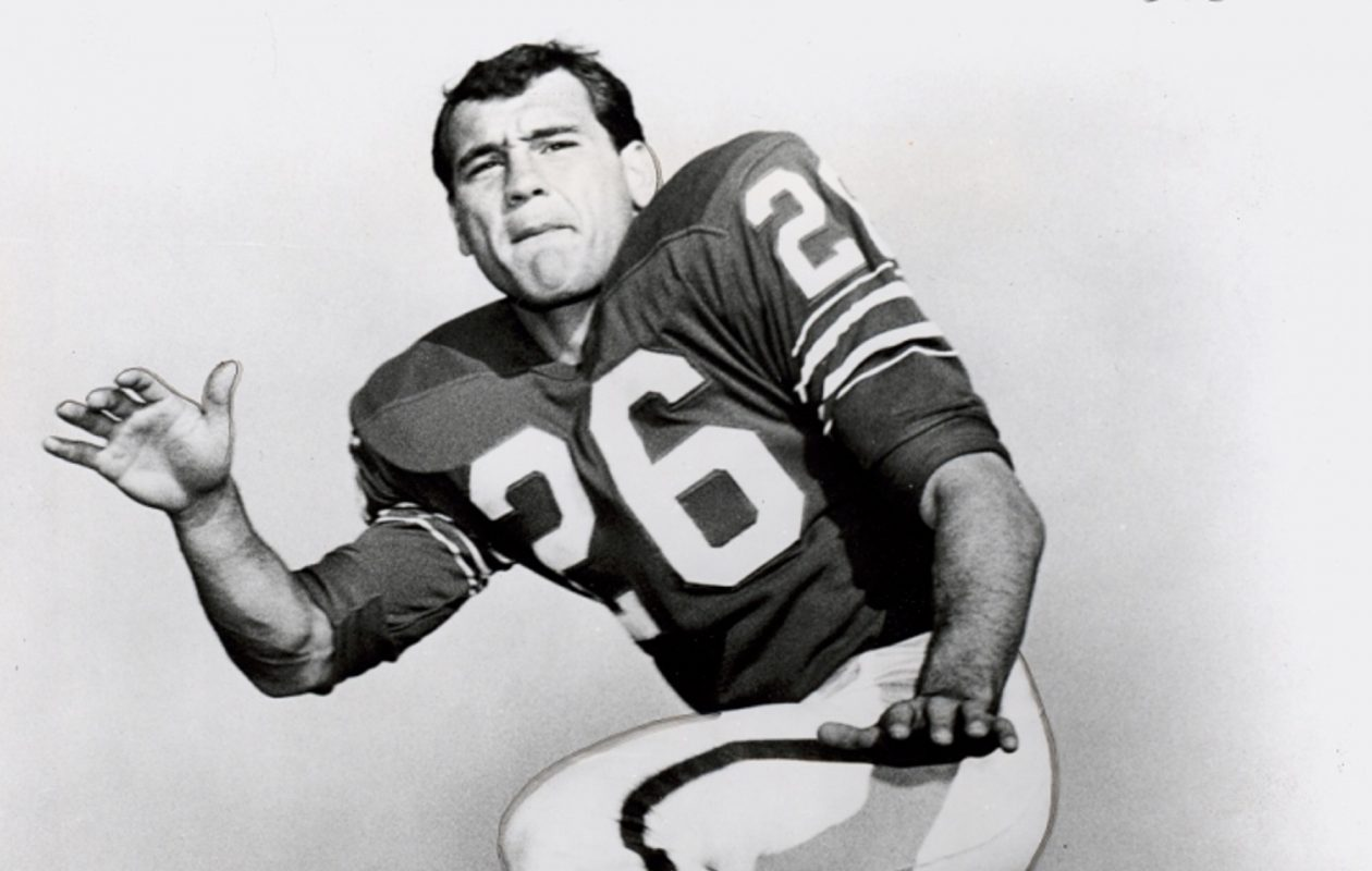 Buffalo Bills player George Saimes. (Photo courtesy of Buffalo State Archives Courier-Express Collection)