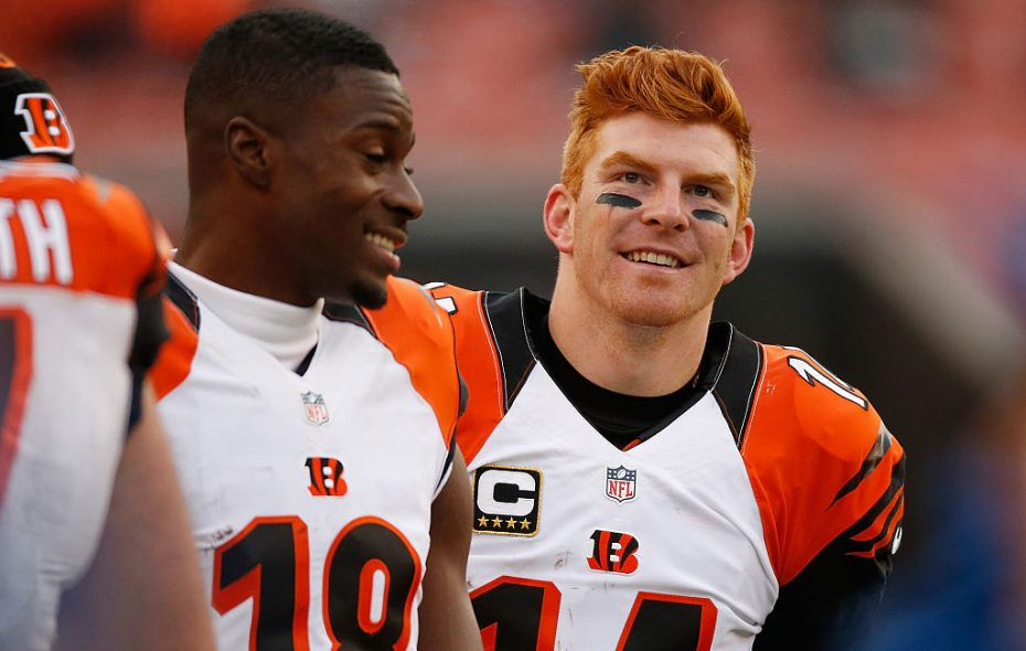 Andy Dalton and the Bengals helped put an end to the Bills' playoff drought. (Gregory Shamus/Getty Images file photo)