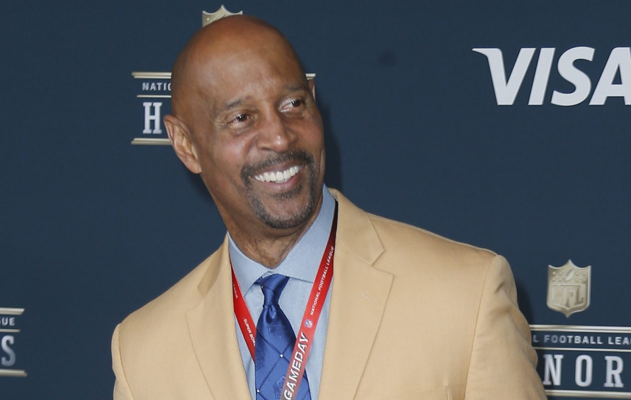 James Lofton had some bright moments for CBS in his analysis of the Bills-Jets on Sunday. (Getty Images)