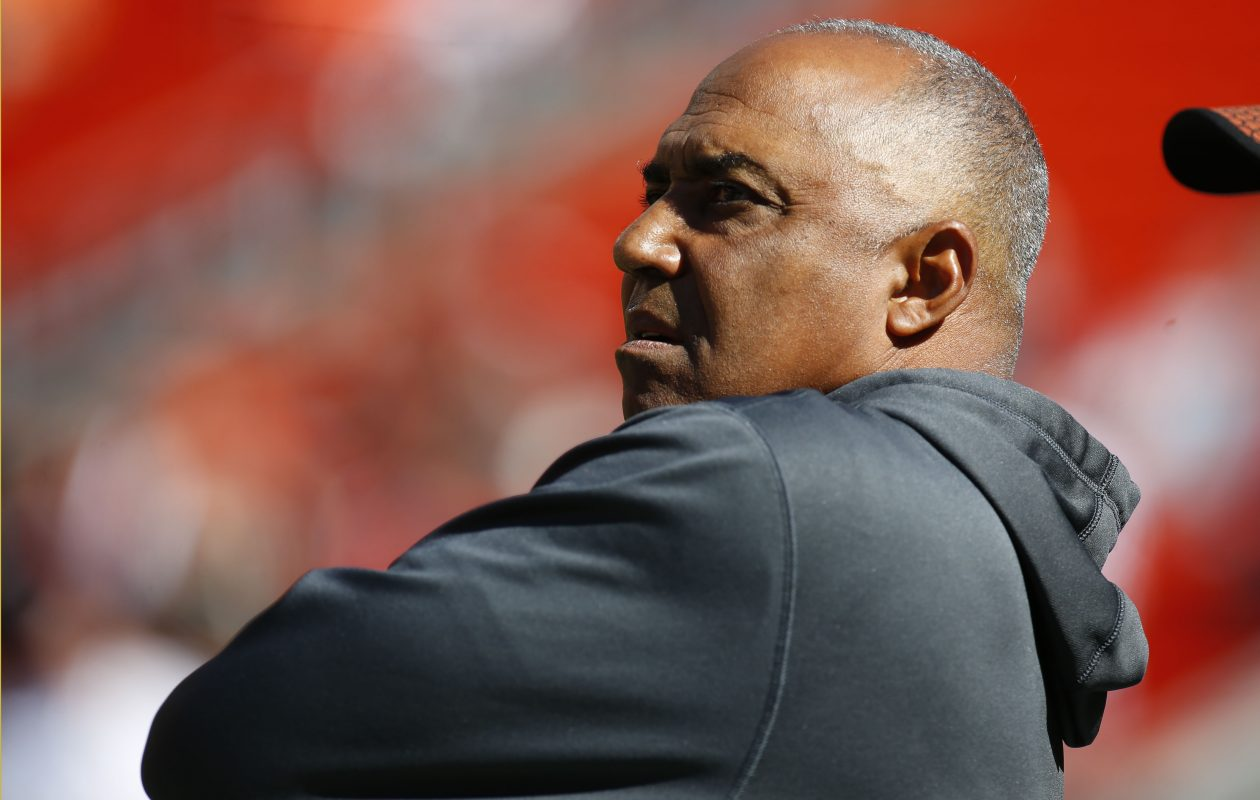 Bengals coach Marvin Lewis (Justin Aller /Getty Images)