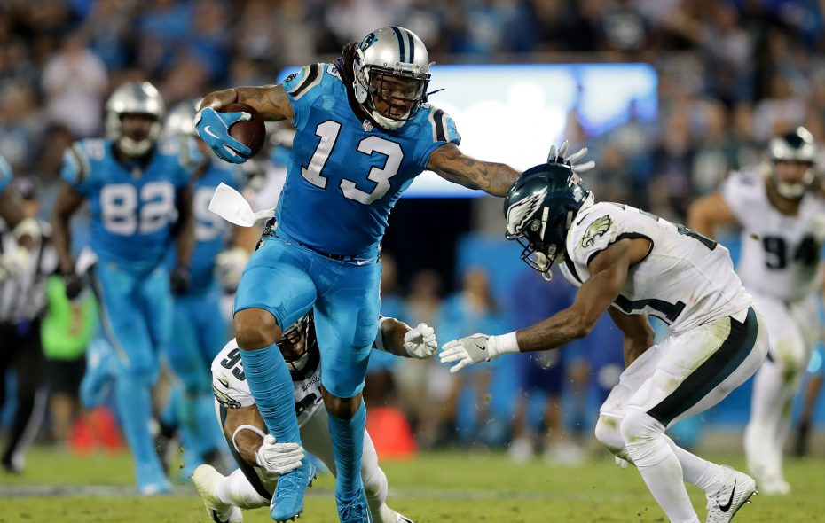 The Bills sent two draft picks to Carolina to acquire wide receiver Kelvin Benjamin. (Getty Images)