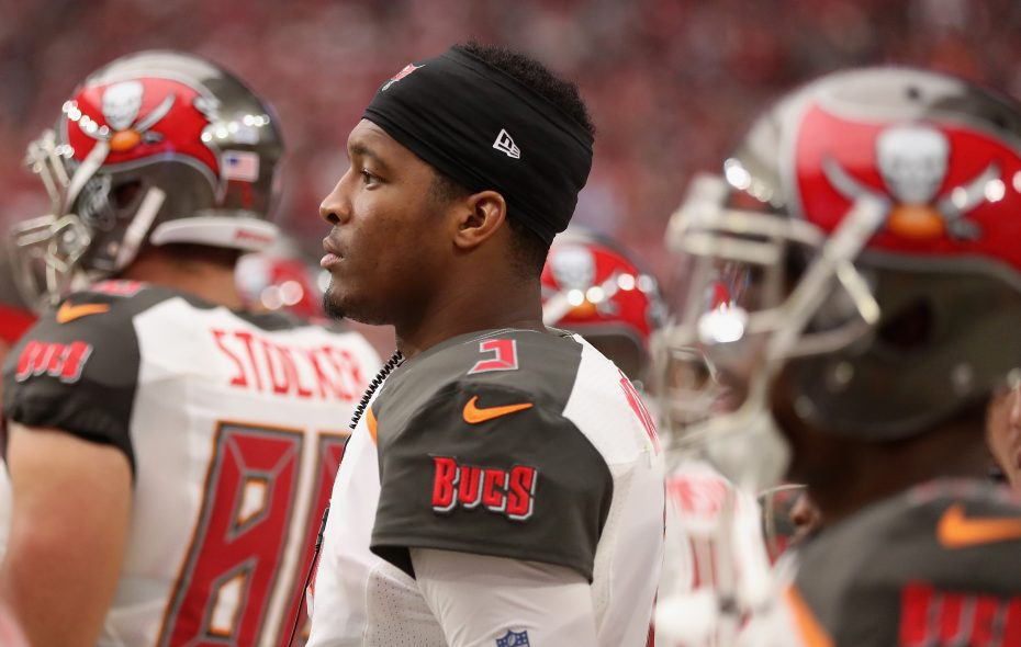 Quarterback Jameis Winston of the Tampa Bay Buccaneers used an interesting term to describe the Bills' defense. (Christian Petersen/Getty Images file photo)