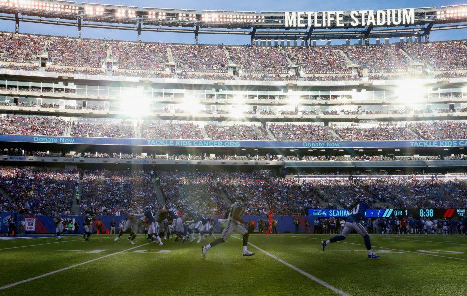 MetLife Stadium in East Rutherford, N.J. (Getty Images)