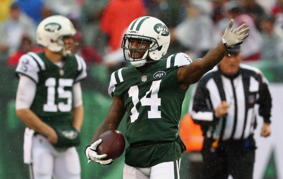 Former Jets receiver Jeremy Kerley has joined the Buffalo Bills on a one-year contract. (Getty Images)