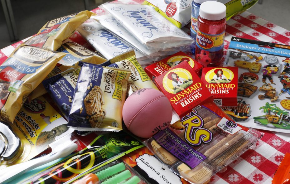 There are plenty of healthy choices for your kids, and yourself, this Halloween season, and, if you're kids get too much candy, they can turn it into cash at two WNY dental practices.  (Derek Gee/Buffalo News)
