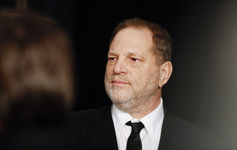 Harvey Weinstein, the Hollywood producer, at a party in Los Angeles, Jan. 10, 2016. (Emily Berl/The New York Times)