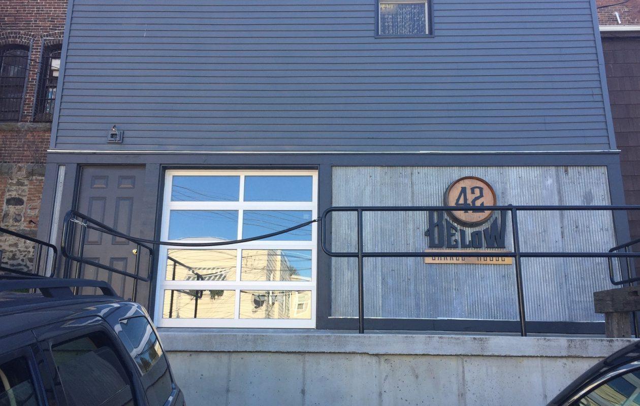 The exterior of 42 North Brewing Company's 42 Below, the business' barrel house. (Ben Tsujimoto/Buffalo News)