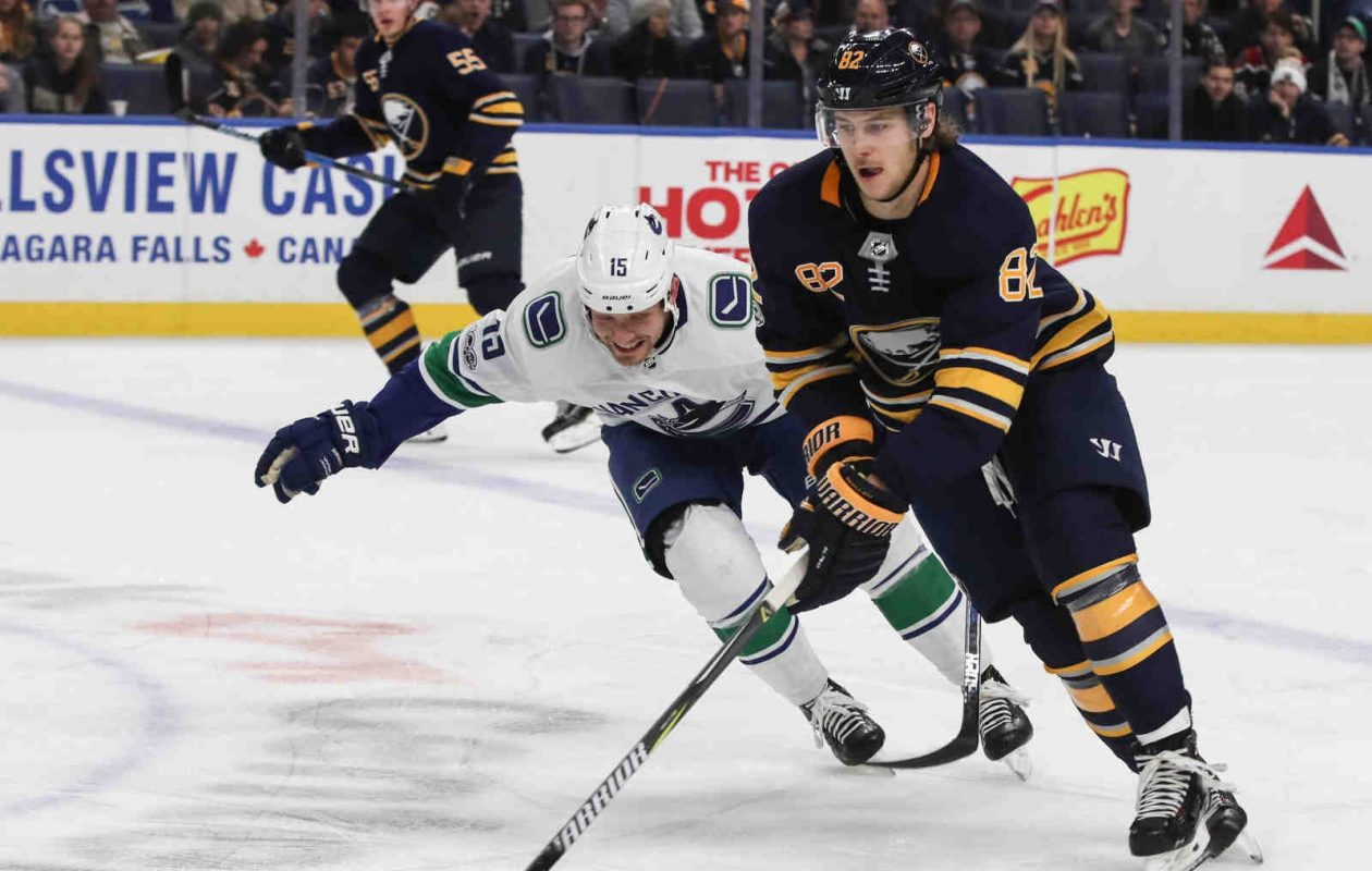 Nathan Beaulieu, who's day-to-day with an upper-body injury, won't face the Bruins. (James P. McCoy/Buffalo News)