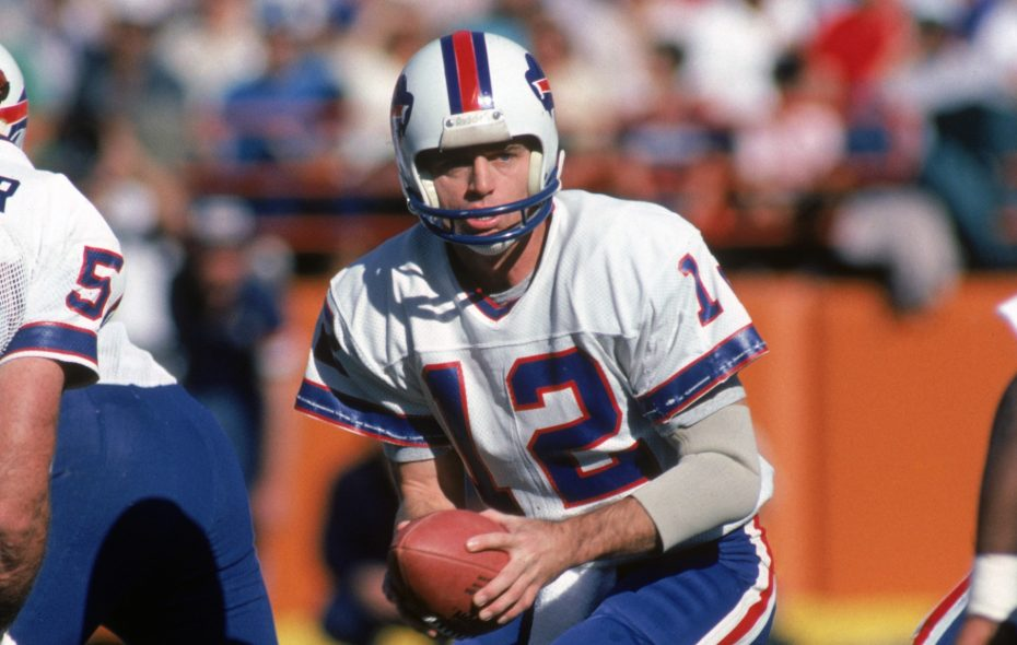 Bills QB Joe Ferguson threw for 223 yards in an Oct. 25, 1981, game against the Denver Broncos. (Getty Images)