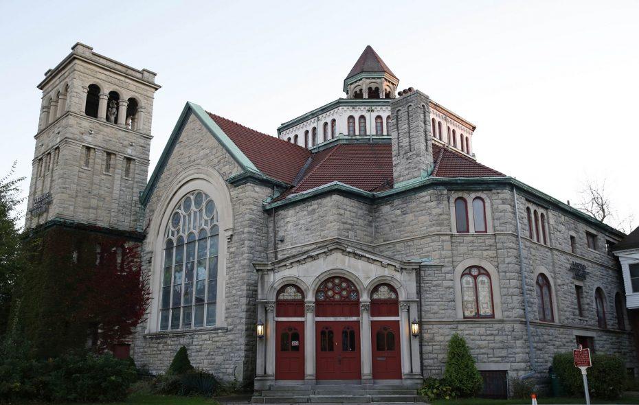 The Karpeles Manuscript Library at 453 Porter Ave.  (Sharon Cantillon/Buffalo News)