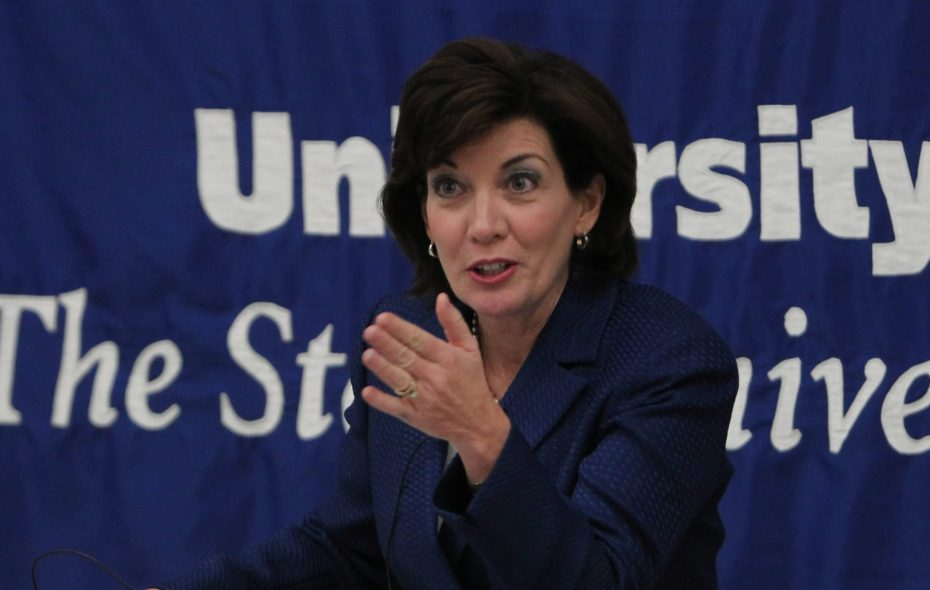 Lt. Gov. Kathy Hochul in a file photo from March 13, 2012. {Photo by Sharon Cantillon / Buffalo News}