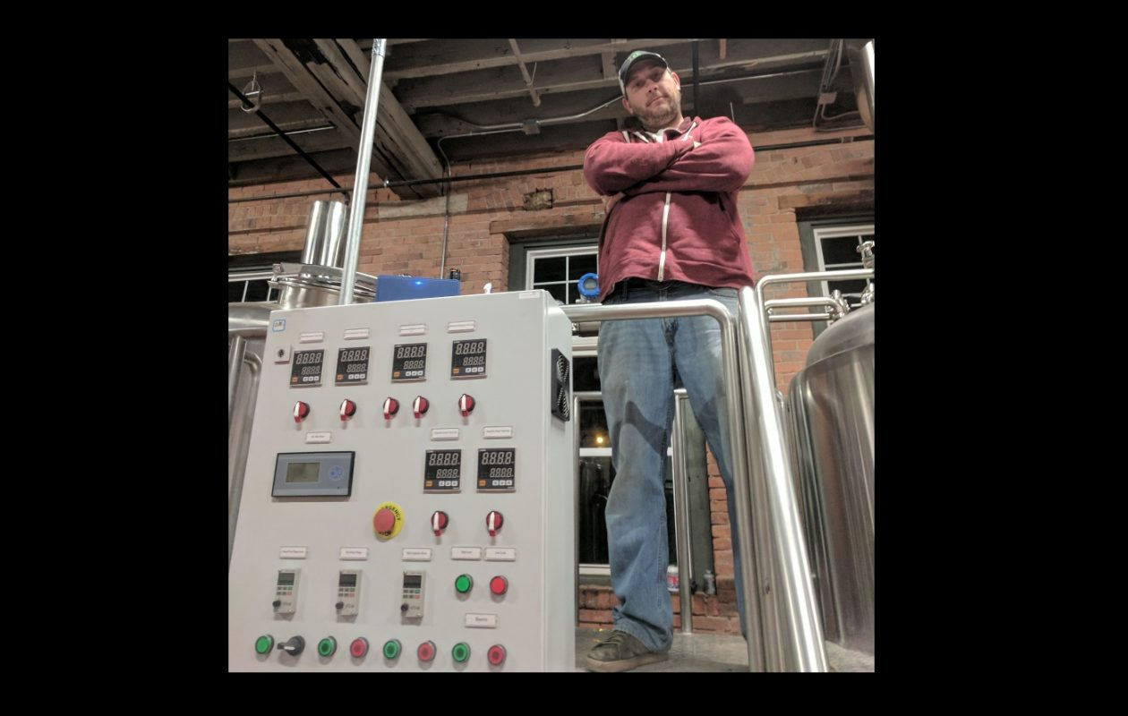 Pressure Drop Brewing and brewer Karl Kolbe will release a new beer called Alien Technology. (Alex Placito/Special to The News)
